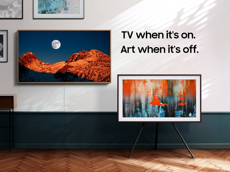 Enhance Your Media Room Design with Samsung's The Frame